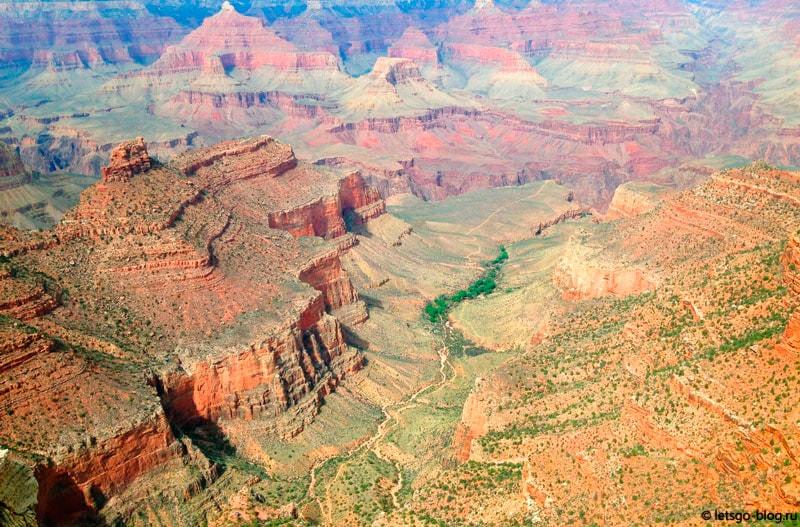Большой каньон, вид с Trail of Time (Дорога Времени)
