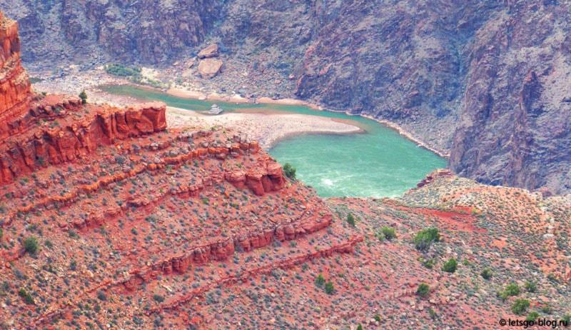 Большой каньон, Hopi point (Хопи поинт)