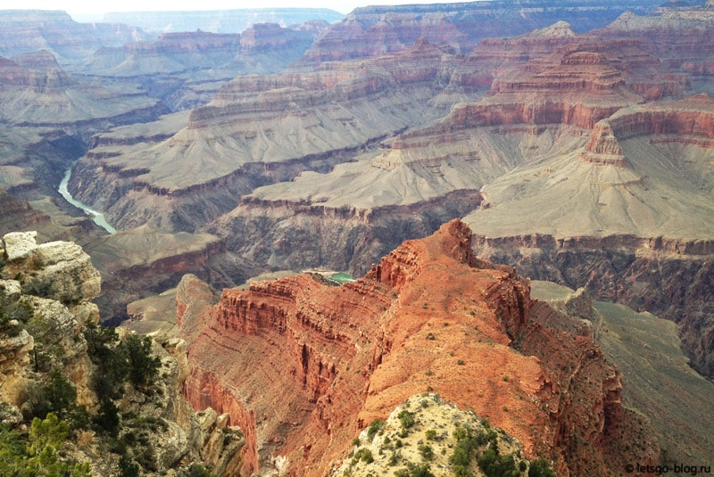 Большой каньон, Mojave point (Мохави поинт)
