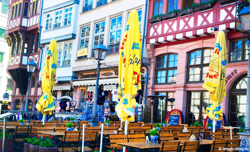 Площадь Рёмерберг Франкфурт