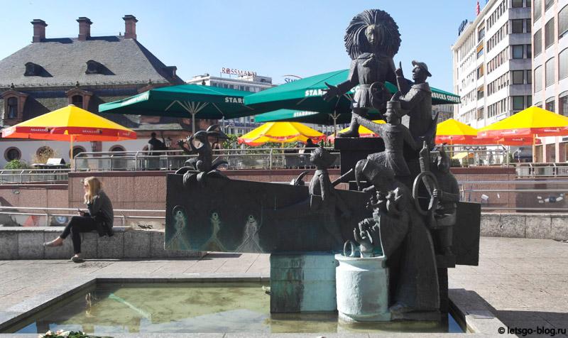 Площадь Гауптвахта Франкфурт