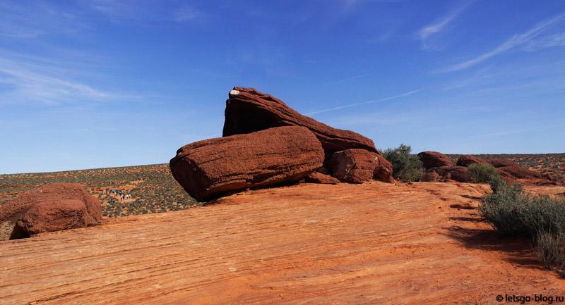 Долина реки Колорадо Аризона