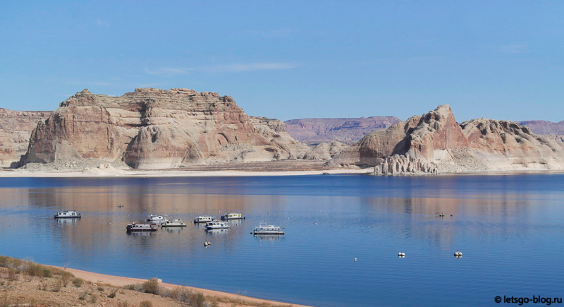 Озеро Пауэлл, Глен-каньон