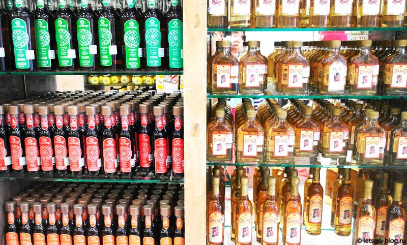 Магазин текилы в Канкуне