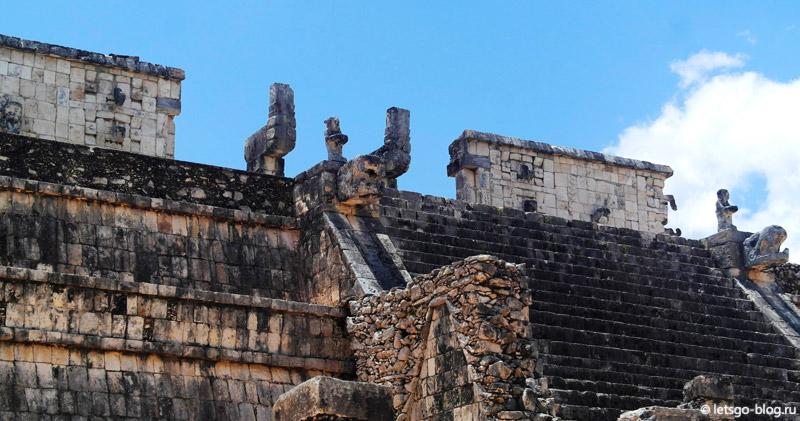 Храм воинов Чичен-Ица