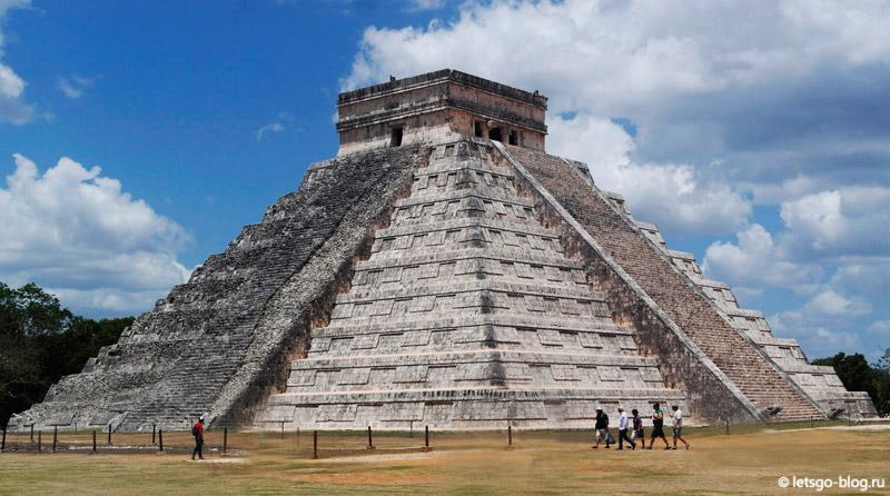 Храм Кукулькана Чичен-Ица