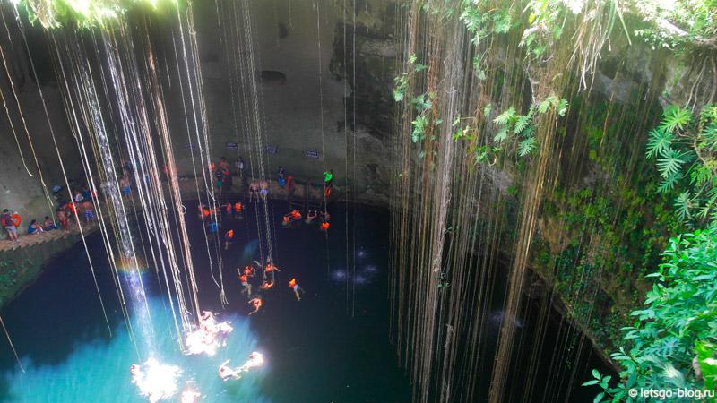 Сенот Ик-Киль (Cenote Ik kil)