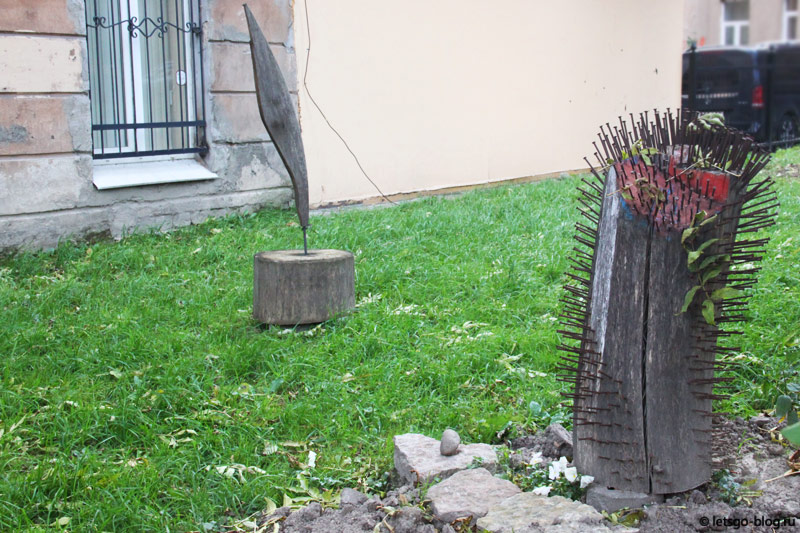 Двор у Ветрогонского Питер