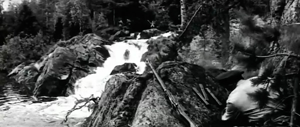 А зори здесь тихие, водопад Ахвенкоски