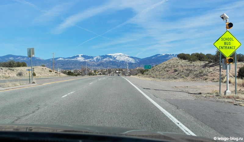 Дороги Нью-Мексико