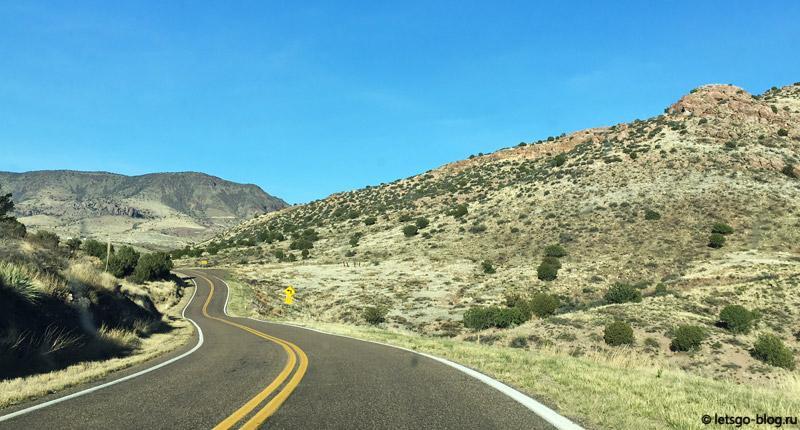 Нью-Мексико на машине