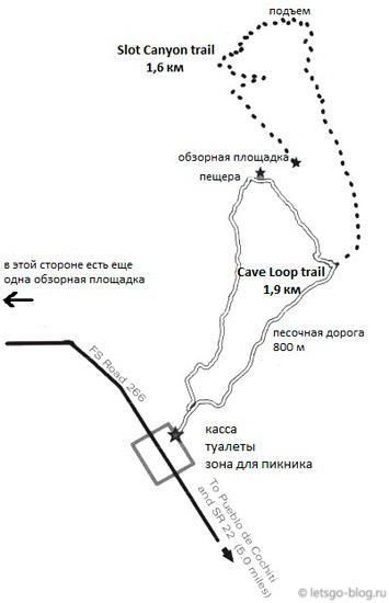 Каша-Катуве схема парка