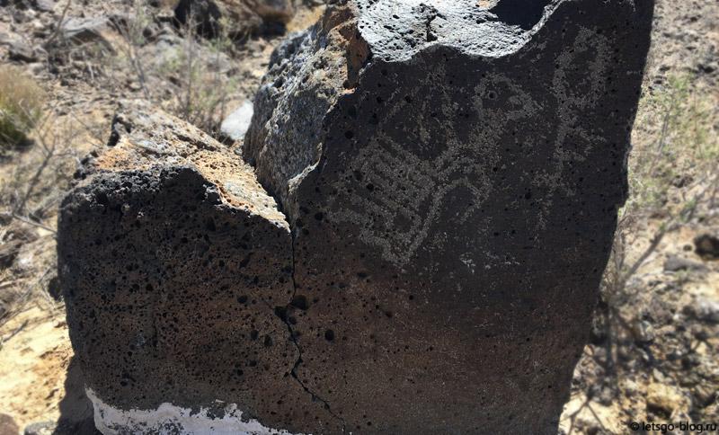 Национальный монумент Петроглиф, каньон Бока Негра