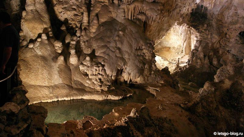 Карлсбадские пещеры, трейл Big Room
