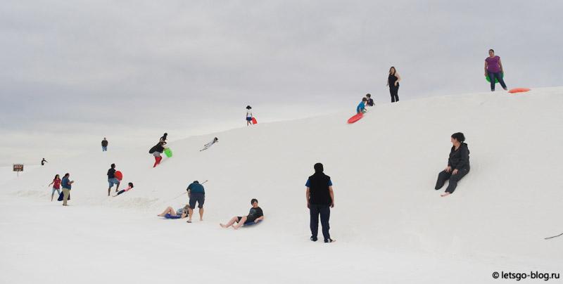 Парк Белые пески, серфинг на песке