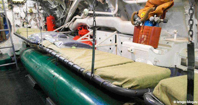подводная лодка с-189 отсеки
