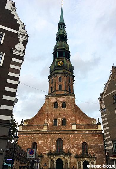 Церковь Св.Петра Рига