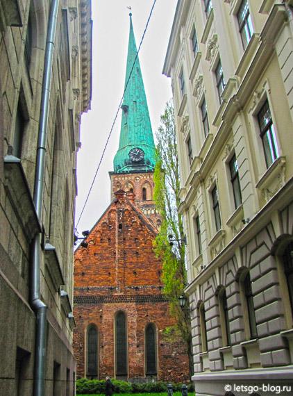 кафедральный собор Святого Иакова рига