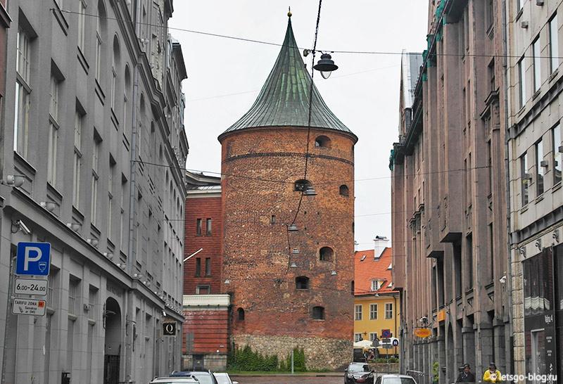 Пороховая башня рига