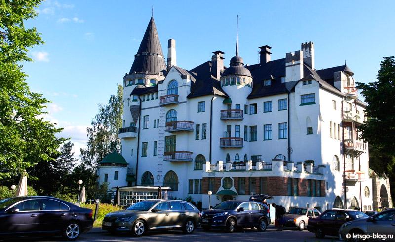 Иматра. Отель замок