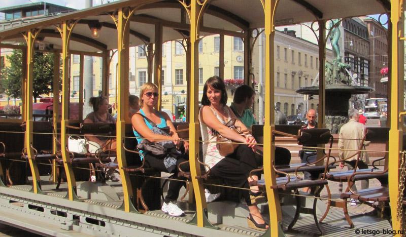 Музейный трамвай Хельсинки