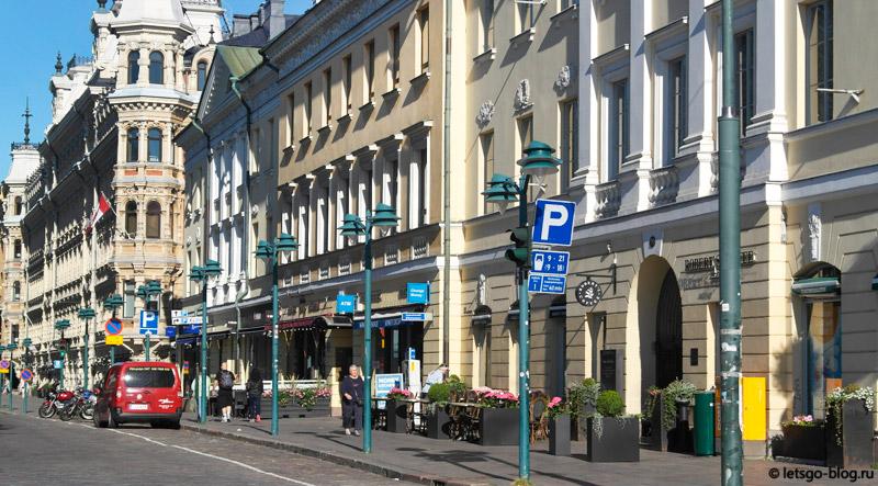 Северная Эспланада Хельсинки