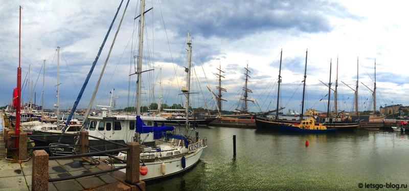 Морской порт Хельсинки
