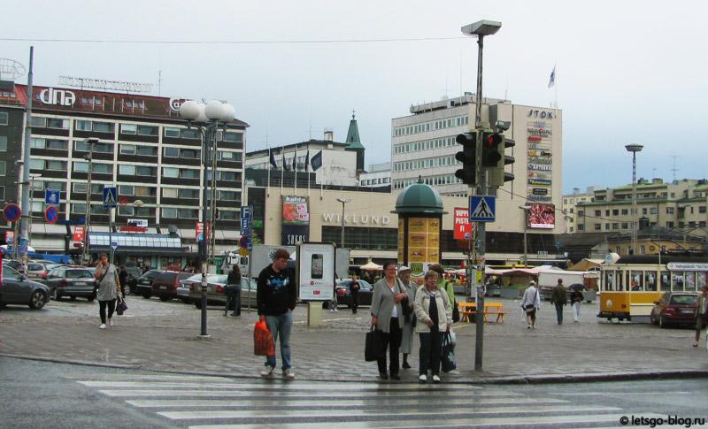 Торговая площадь турку