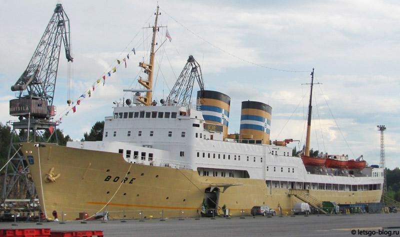 морской порт Турку