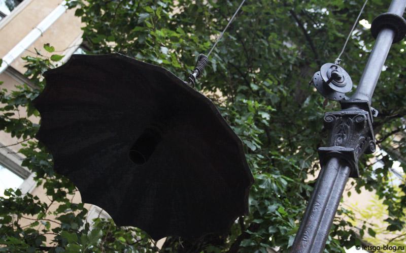 Двор с зонтиками Питер