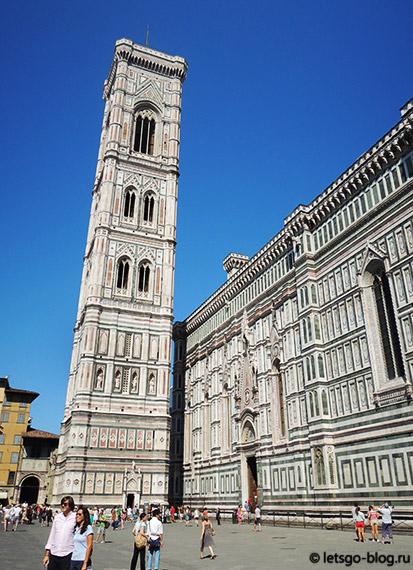 Соборная площадь Флоренция