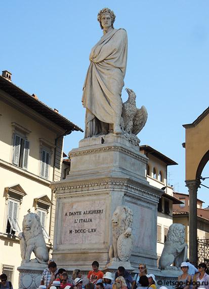Площадь Санта Кроче Флоренция