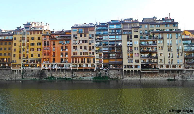 Набережная реки Арно Флоренция