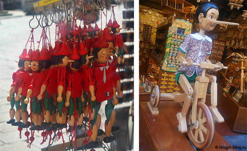 Магазин Пиноккио Флоренция