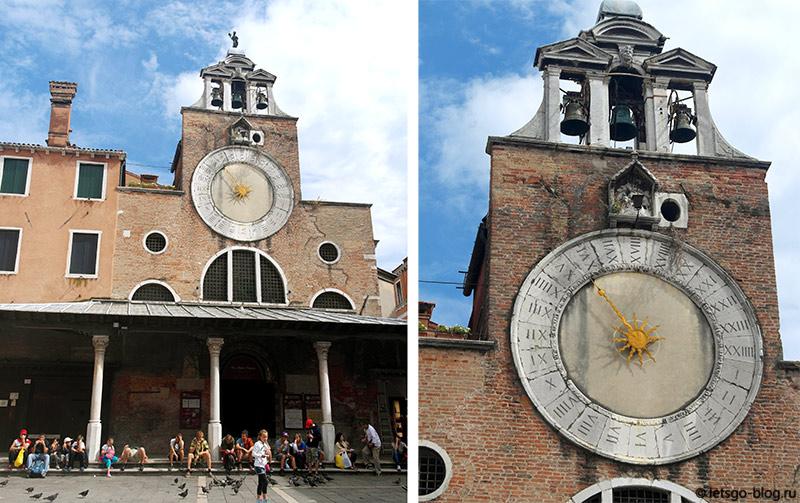 церковь Сан-Джакомо ди Риальто Венеция