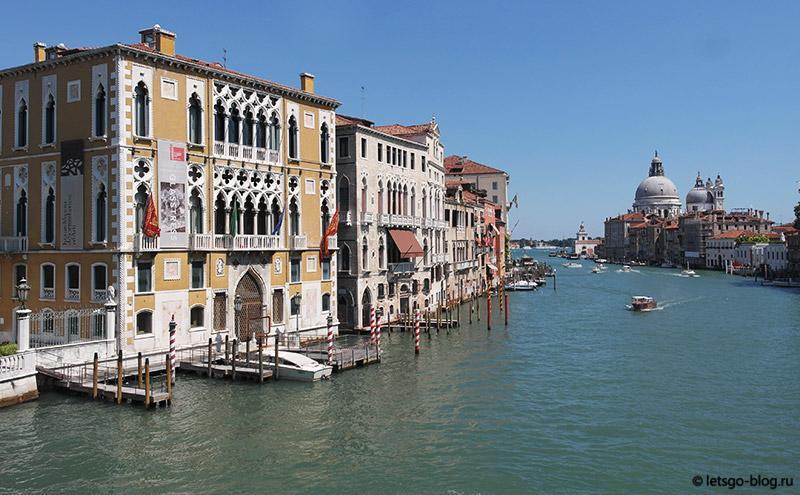 Мост Академии Венеция
