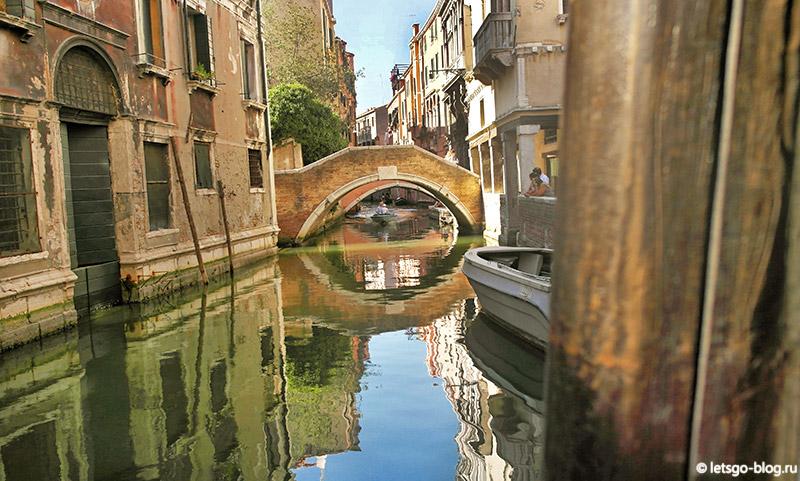 Понте-делле-Тетте Венеция