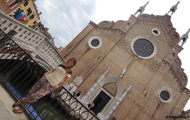 Церковь Санта Мария Глориоза деи Фрари Венеция