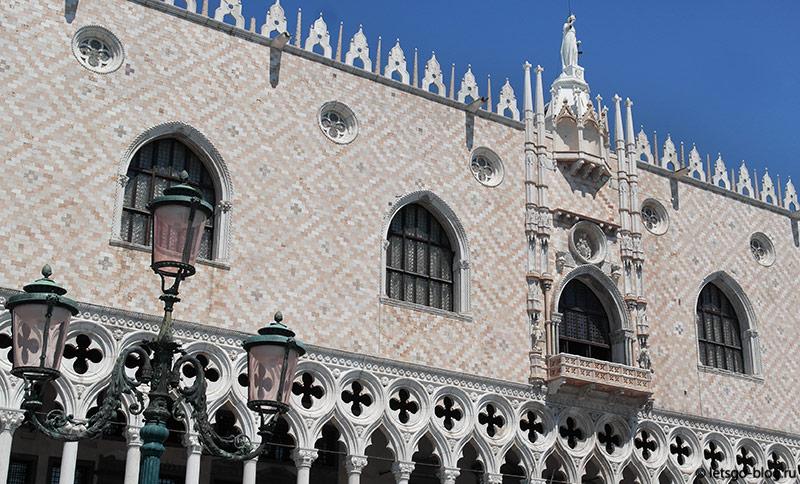 Дворец дожей площадь Сан Марко