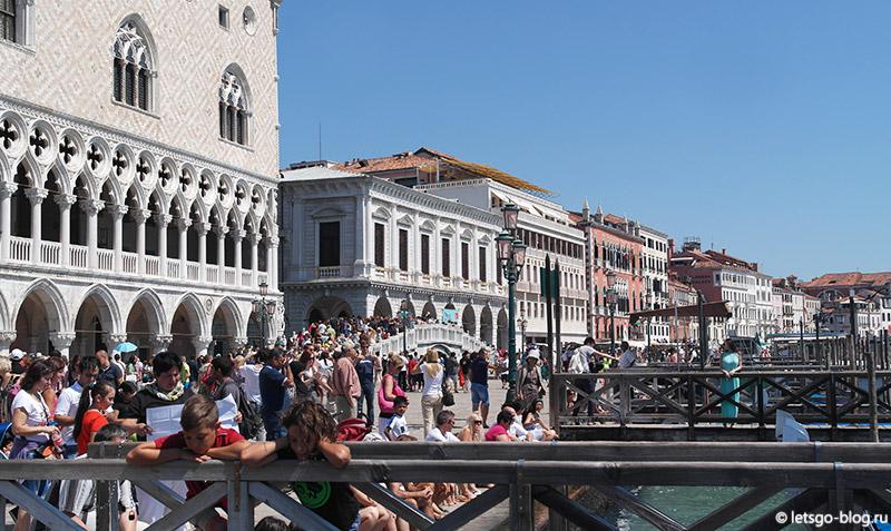 Соломенный мост Венеция
