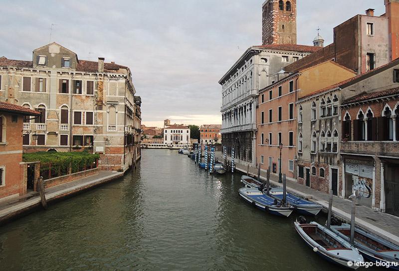 Мост Скальци Венеция