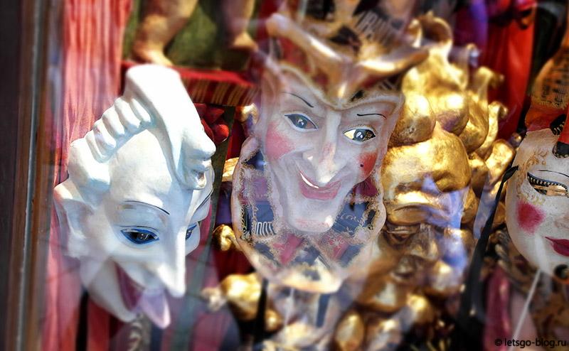 Венеция маски