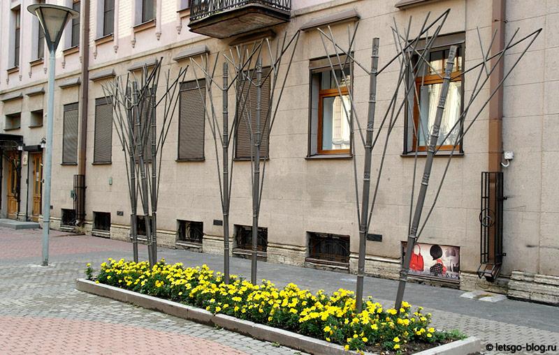 Металлические деревья спб