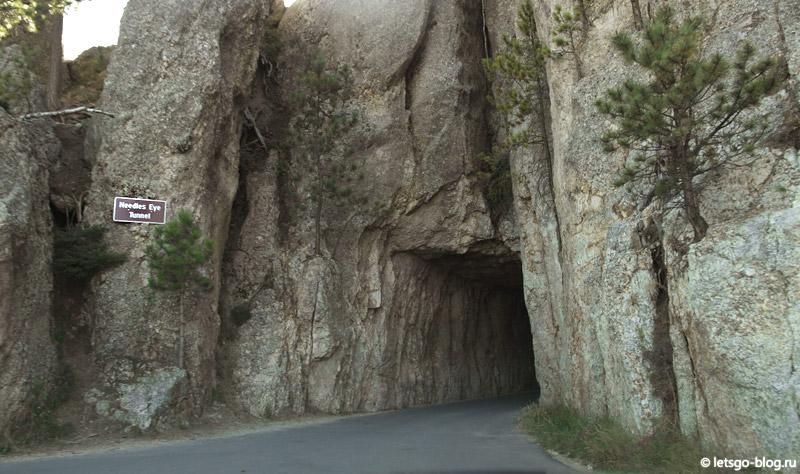 Шоссе Игл, Нидлз хайвей. Needles Eye Tunnel
