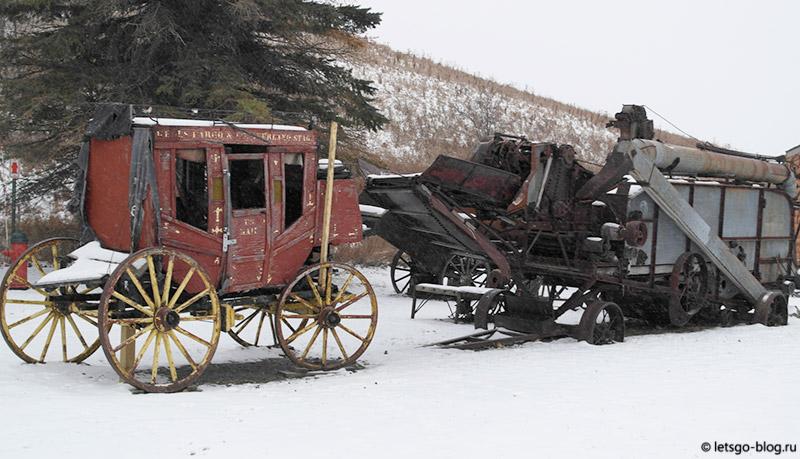 Джеймстаун Северная Дакота Frontier Village