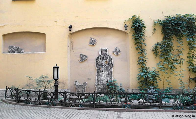 Двор дворника СПб