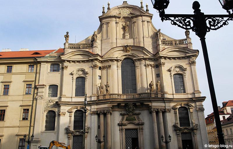 Костел Святого Николая Прага