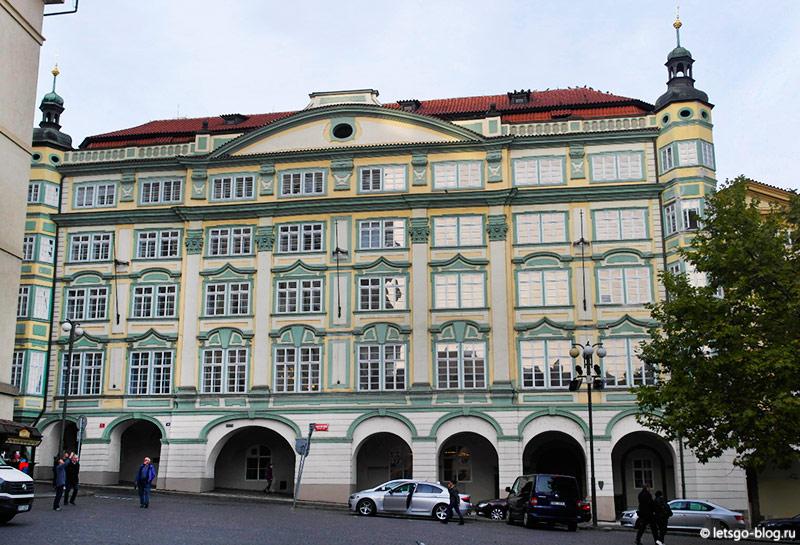 дворец Смиржицких Прага