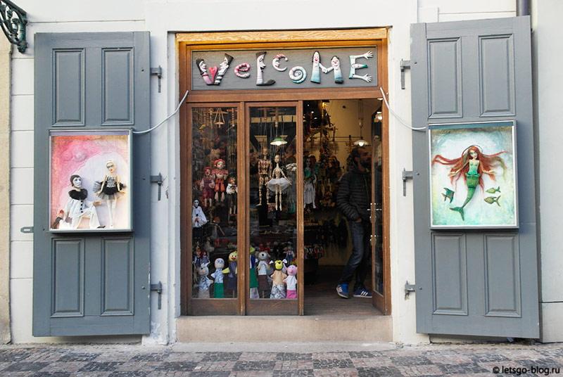 Магазин марионеток Прага