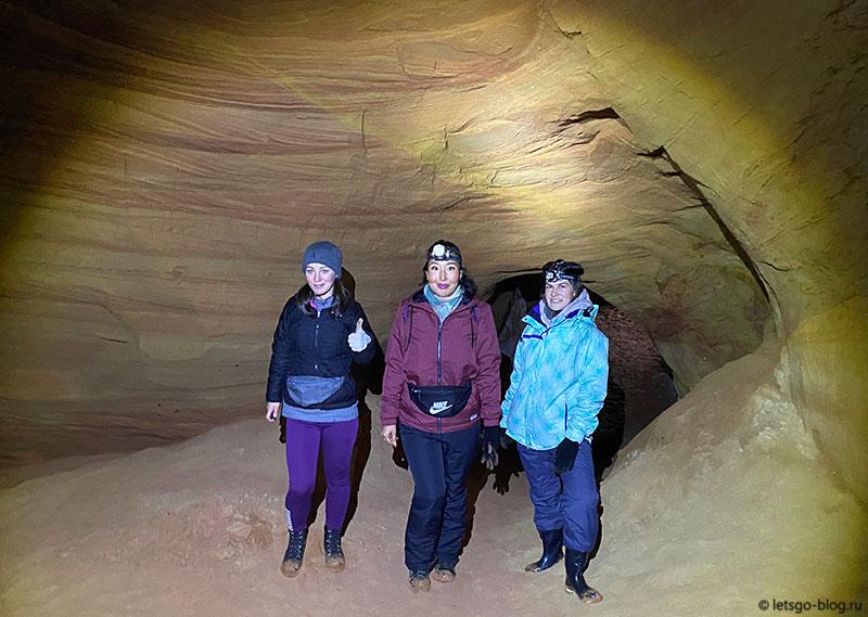 Оредежские пещеры. Пещера Готическая (Дикая)
